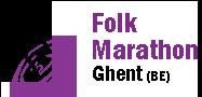 Folk Marathon Ghent Logo